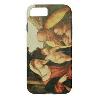 Heilige Familie mit Johannes iPhone 8/7 Hülle
