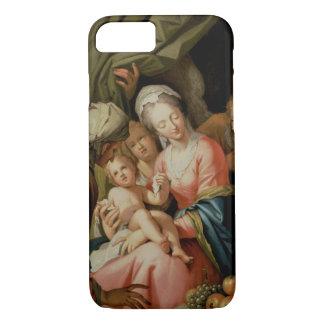 Heilige Familie mit St Anne iPhone 8/7 Hülle