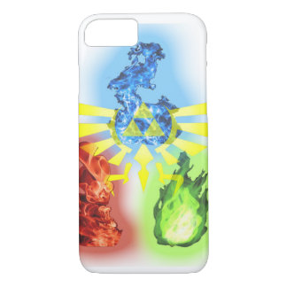 Heilige Flamme iPhone 8/7 Hülle