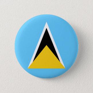 Heilige Lucia-Flaggen-Knopf Runder Button 5,7 Cm