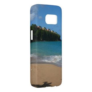 Heilige Lucia-Strand-tropische Ferien-Landschaft