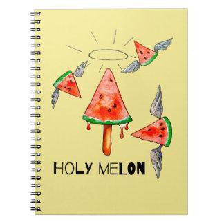 Heilige Melone Notizblock