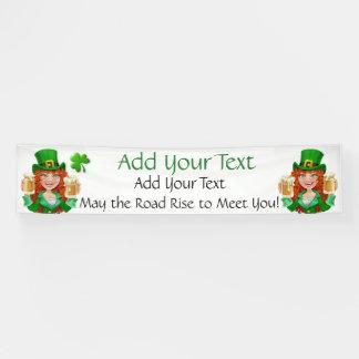 Heiligen Patrick Tag oder irischer Geschäfts-Dekor Banner