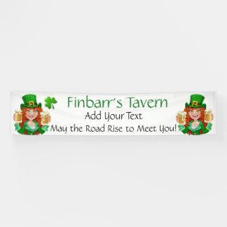 Heiligen Patrick Tag oder irisches Geschäft Banner