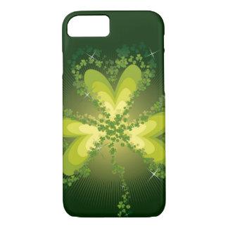 Heiligen Patrick TagesKleeblatt-Klee iPhone Fall iPhone 8/7 Hülle