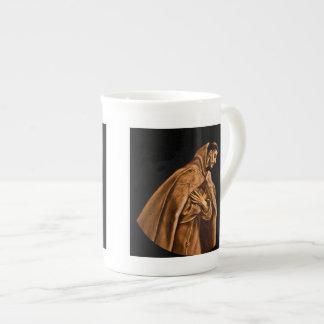 Heiliger Franziskus auf seinen Knien Porzellan-Tassen