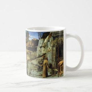 Heiliger Franziskus in der Wüste durch Giovanni Tasse