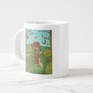 Heiliger Franziskus von Assisi Extragroße Tasse