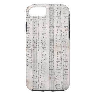 Heiliger Harfen-Musik iPhone Fall iPhone 8/7 Hülle