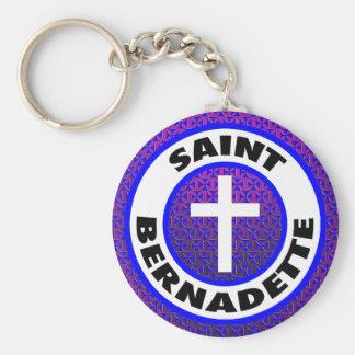 Heiliges Bernadette Schlüsselanhänger