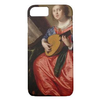 Heiliges Cecilia (Öl auf Leinwand) iPhone 8/7 Hülle