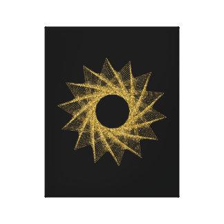 Heiliges Geometrie-Symbol Leinwanddruck