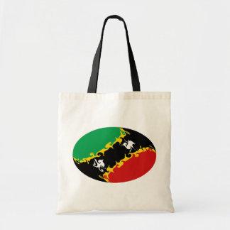 Heiliges Kitts und Gnarly Flaggen-Tasche Nevis
