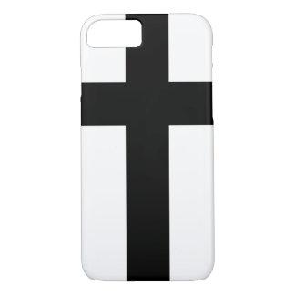 Heiliges Ritter-Schwarz-Kreuz iPhone 8/7 Hülle