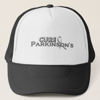 Heilungs-Parkinson grauer Band-Entwurf Truckerkappe