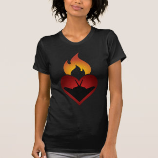 Heimlichkeit sich ist, wo das Herz ist T-Shirt