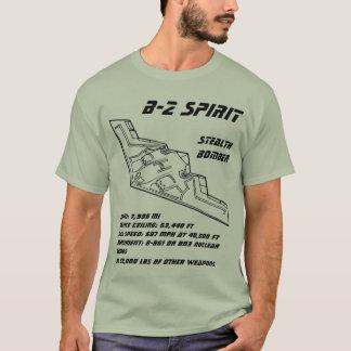 Heimlichkeits-Bomber des Geist-B-2 T-Shirt