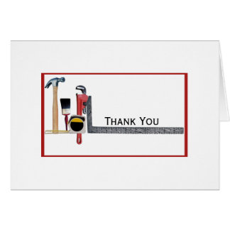 Heimwerker-Werkzeuge Mitteilungskarte