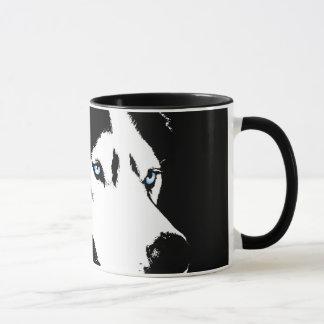 Heisere Tassen-Kaffeetasse-coole sibirischer Tasse
