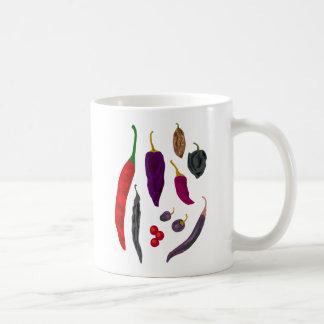 Heiße Paprikaschoten-Gewürz-Tasse Kaffeetasse