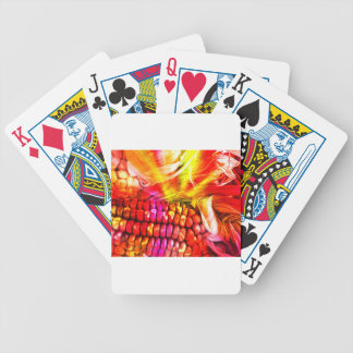 heißer gestreifter Mais Poker Karten