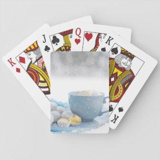 Heißer Kakao-Spielkarten Spielkarten
