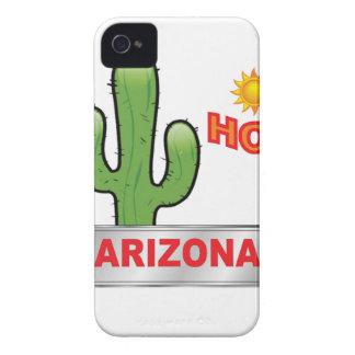 Heißes Rot Arizonas iPhone 4 Case-Mate Hülle