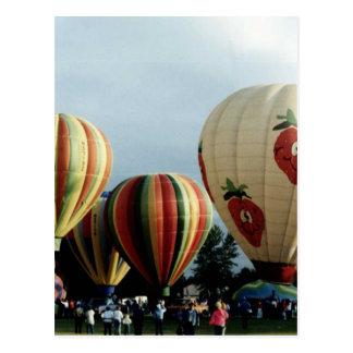 Heißluft-Ballon (1) Postkarte