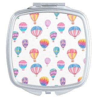 Heißluft-Ballon-Muster Schminkspiegel