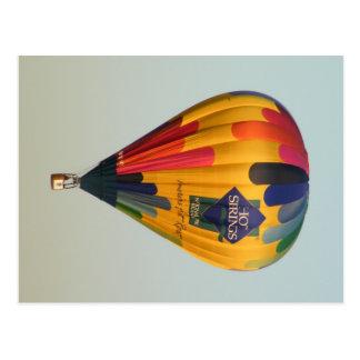 Heißluft-Ballon Postkarte
