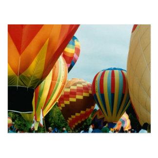 Heißluft-Ballone (3) Postkarte