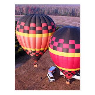 Heißluft-Ballone 6 Postkarte