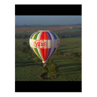 Heißluftballon, Luftfahrt 1983_Classic Postkarten