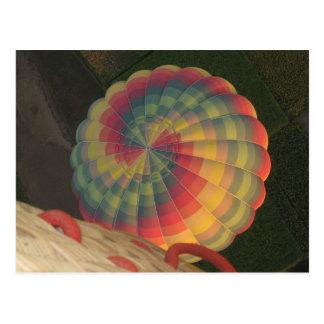 Heißluftballonpostkarte Postkarte