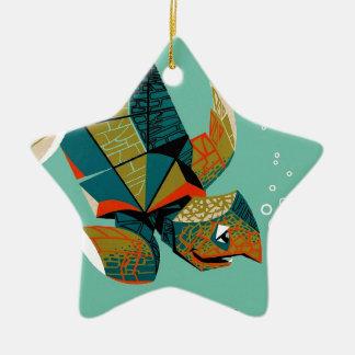 Heitre australische Meeresschildkröte Keramik Ornament