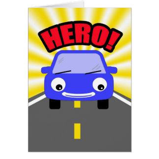 Held-Antrieb Carpool-Danken Ihnen Karte