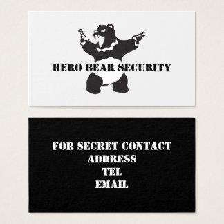 Held-Bärn-Sicherheit Visitenkarte