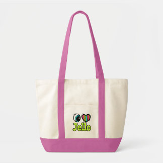 Helle Liebe Jello des Augen-Herz-I Einkaufstasche