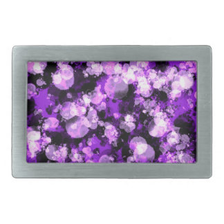 Helle lila Schwarz-Explosions-Rechteck-Schnalle Rechteckige Gürtelschnallen