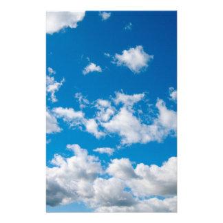 Heller blauer Himmel Briefpapier