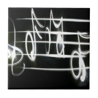 Heller Musiknoten Keramikfliese