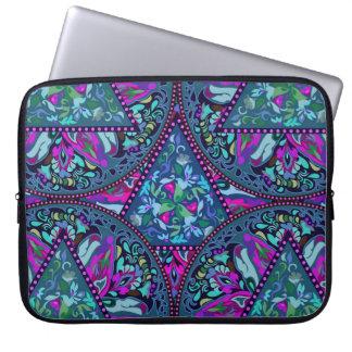 Helles böhmisches Boho Hippie-Chic-Muster Laptopschutzhülle