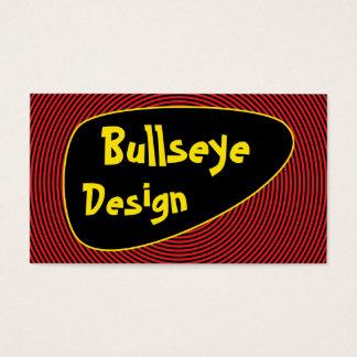 Helles Bullauge Visitenkarte