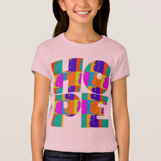 Helles die Hoffnungs-Baby der Kinder - Puppe T-Shirt