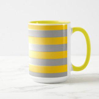 Helles Gelb mit Silberbarren Tasse