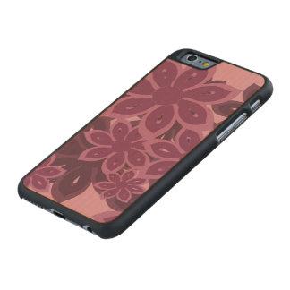 Helles Kanzashi mit Blumen Carved® iPhone 6 Hülle Ahorn