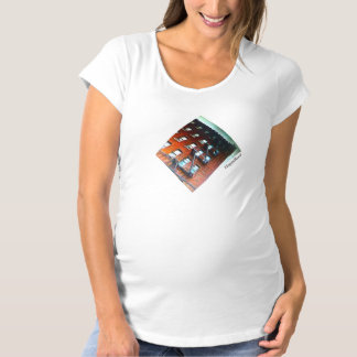 Helles Sommer-Mutterschafts-T-Stück Umstands-T-Shirt