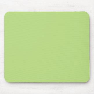 Hellgrüner personalisierter Farbpastellhintergrund Mousepad