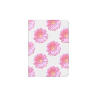Hellrosa Gerberagänseblümchen Passhülle