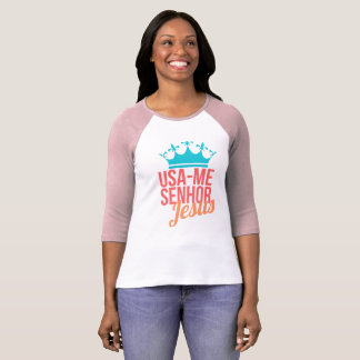 Hemd Femenina/USA ich Herr Jesus T-Shirt